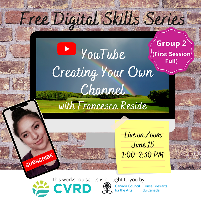 YouTube: Create Your Own Channel (Group 2)