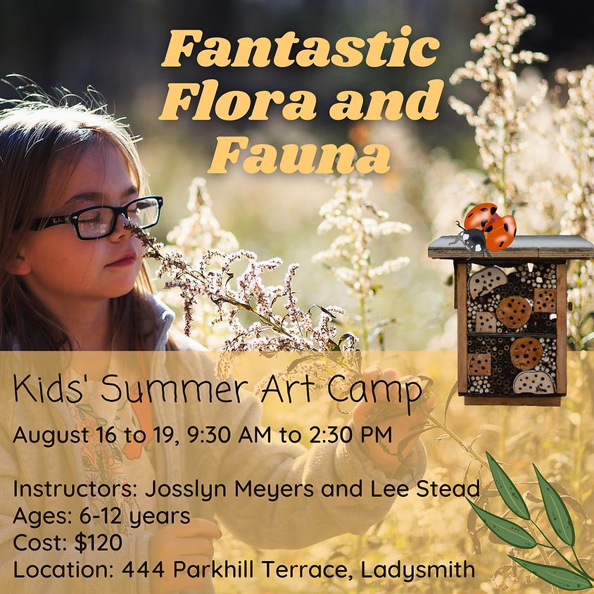 Fantastic Flora and Fauna: Kids' Summer Art Camp
