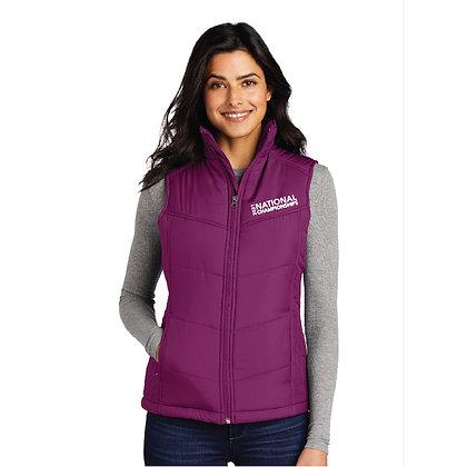 USTA National Championships - Ladies Puffy Vest (L709)