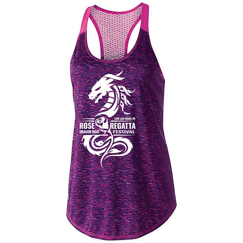Rose Regatta Ladies Space Dye Tank (222733)