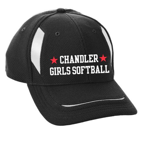 Adult Chandler Girls Softball Mesh Edge Cap (6270)