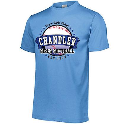 Chandler Girls Softball Tech Tee(Augusta 790)