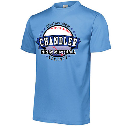 Chandler Girls Softball Tech Tee(Augusta 790)