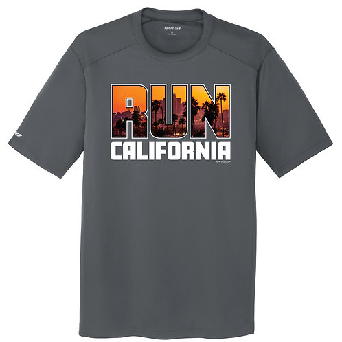 Run California Mens Tee (ST380)