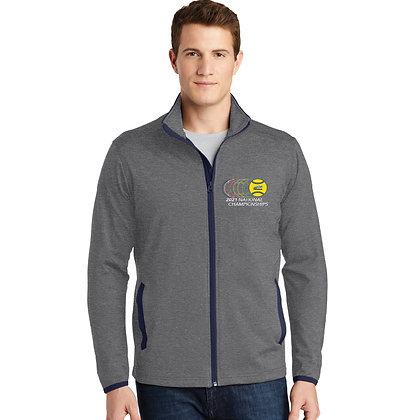 USTA National Championships - Stretch Contrast Full-Zip Jacket (ST853)