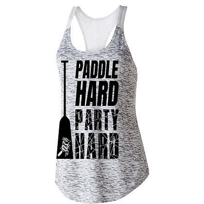 Paddle Hard Party Hard Womens Tanks
