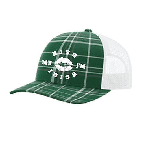Kiss Me I'm Irish Trucker Hat (C112)