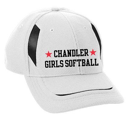 Youth Chandler Girls Softball Mesh Edge Cap (6270)