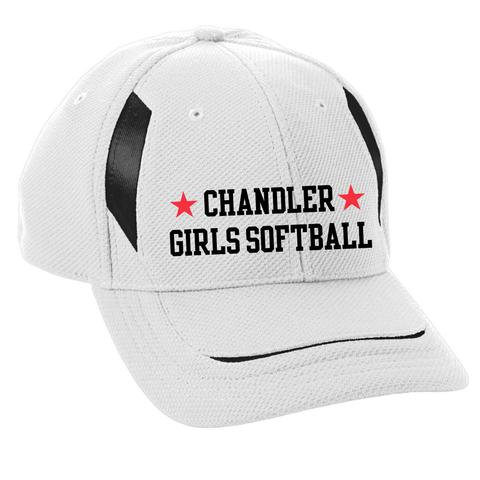 Youth Chandler Girls Softball Mesh Edge Cap (6270)