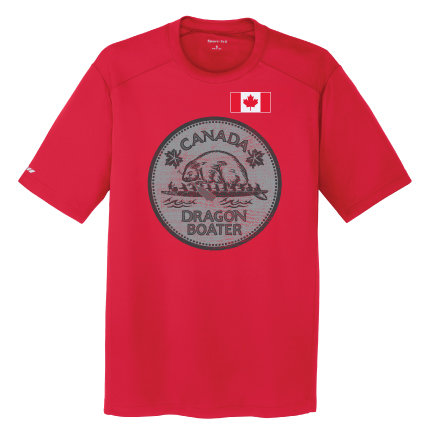 Canada Dragon Boater Mens Tee (ST380)
