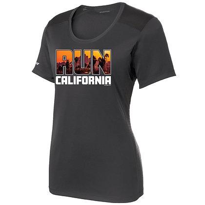 Run California Womens Tee (LST380)