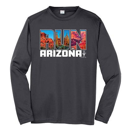 Run Arizona Mens Long Sleeve (ST350LS)