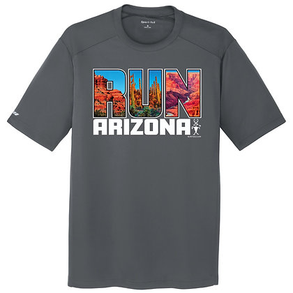 Run Arizona Mens Tee (ST380)