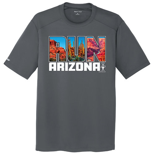 Run Arizona Mens Tee (ST380)