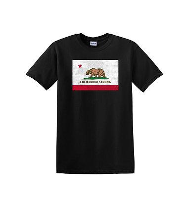 California Strong Youth Black T-Shirt (5000)