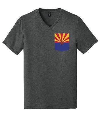 Arizona Men's V-Neck Pocket shirt DT1350