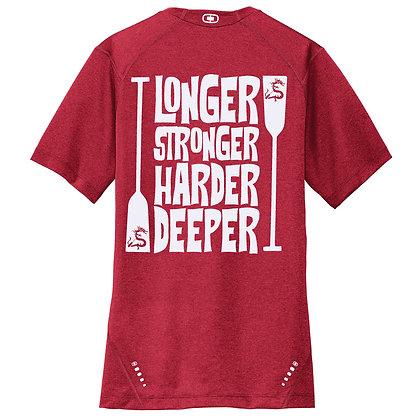 Longer Stronger Harder Deeper Mens Tee (OE320)