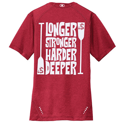 Longer Stronger Harder Deeper Mens Tee (OE320)