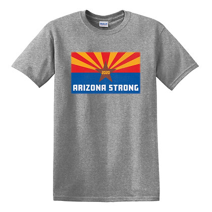 Arizona Strong Adult Graphite Heather T-Shirt (5000)