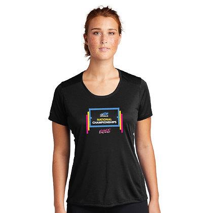 USTA National Championships -Ladies Elevate Scoop Neck Tee (LST380)