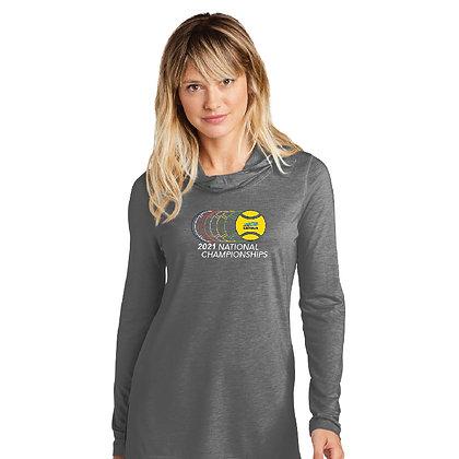 USTA National Championships - Ladies Tri-Blend Long Sleeve Hoodie (LST406)