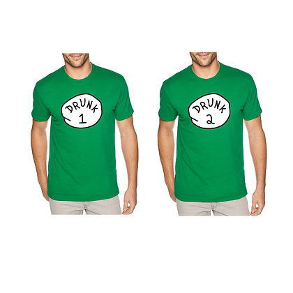 2 Pack Drunk Shirts