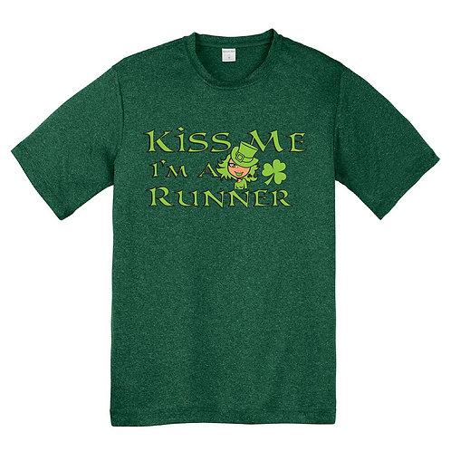 Kiss Me Ladies Dry Fit T-Shirt