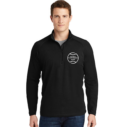USTA National Championships - Stretch 1/2-Zip Pullover (ST850)