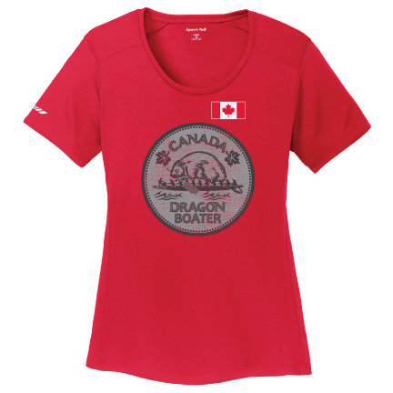 Canada Dragon Boater Womens Tee (LST380)