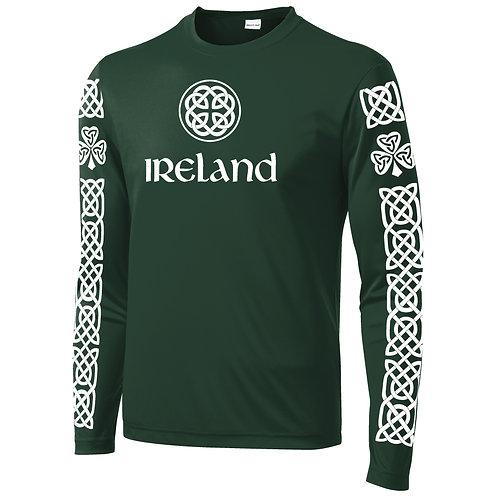 Irish Celtic Pattern Mens Long Sleeve (ST350LS)