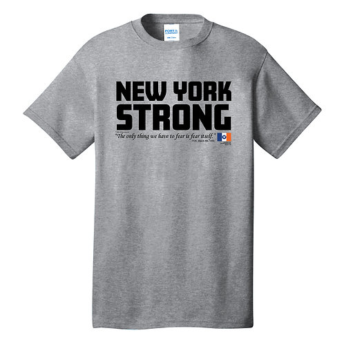 New York Strong Adult Athletic Heather T-Shirt (PC54)