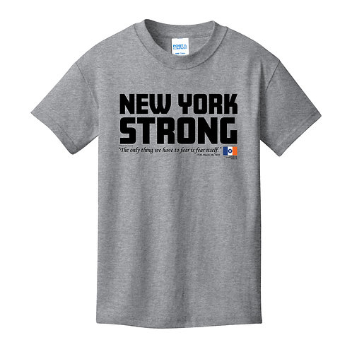 New York Strong Youth Athletic Heather T-Shirt (PC54Y)