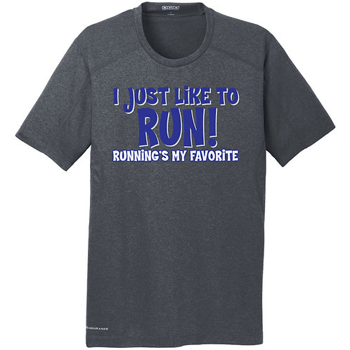 I Just Like To Run Mens Tee (OE320)