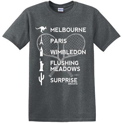 Melbourne, Paris, Wimbledon Tshirt