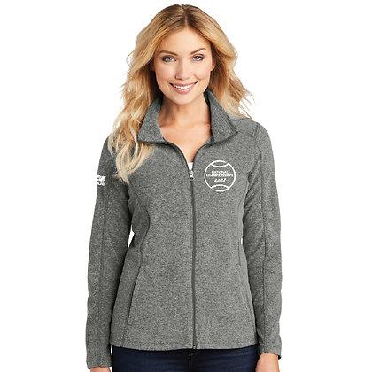 USTA National Championships - Ladies Microfleece Full-Zip Jacket (L235)