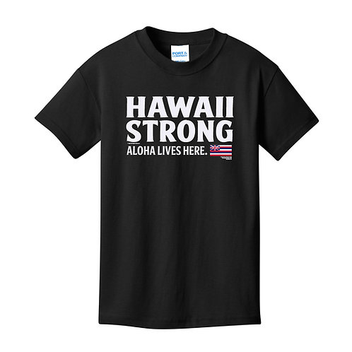 Hawaii Strong Youth Athletic Heather T-Shirt (PC54Y)