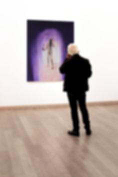 Regina Nieke @ Stiftung Starke The Abstract View o.T. (Auf der Suche nach der verlorenen Zeit 3), 2017, Öl auf Leinwand, 150x120cm