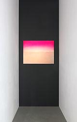 Untitled (Sky Light) 2016 spraypaint/ acrylic/ oil on cotton 60x80cm