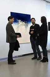 Regina Nieke at Marianne Werefkin-Preis 2018 / Kommunale Galerie Berlin