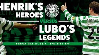 Celtic Legends Reunite For Charity
