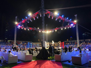 MTK Global Boxing from Dubai