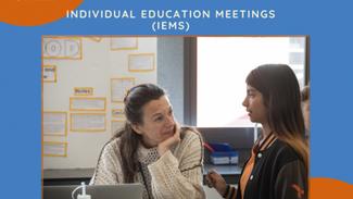 Individual Education Meetings (IEMs) - S1 2021 (Junior)