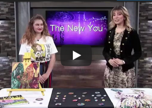 NROR ART on the New You Show - YouTube.p