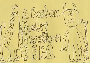 Bozek & Tamayo at Boston Poetry Marathon!