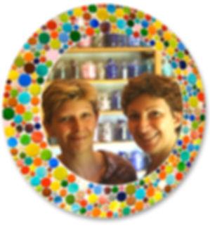 soeurs Villéna, Valérie & Dominique Villéna, L-Mosaïque, mosaïque contemporaine, mosaique déco, mosaistes pro, décoration mosaïque, mosaique colorée, art mosaique, création mosaique, créateurs verre, créateurs mosaique