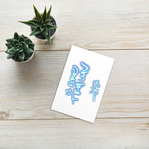 'U Are Tru Luv' Postcard