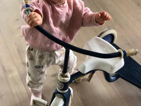 Min første sykkel