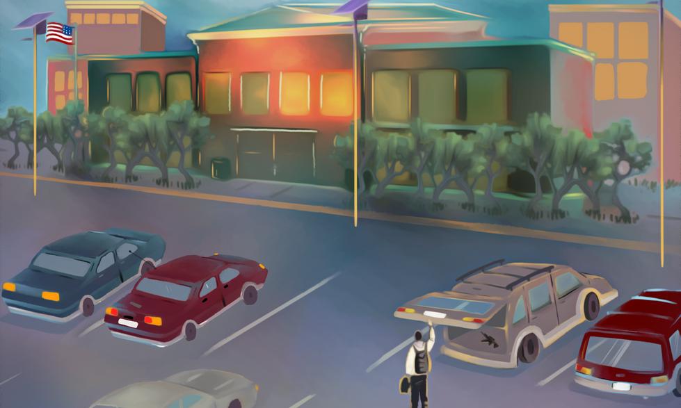 School_shooter_in_parking_lot_storyboard