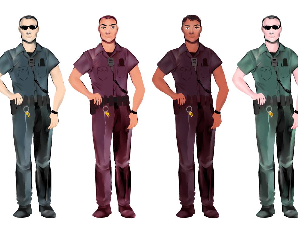 policemen_concept_itirations_Naomi_Chand