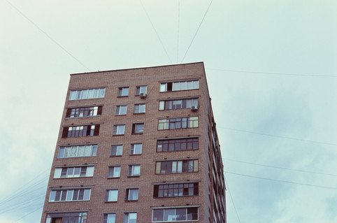 PANEL BUILDING IN MOSCOW